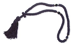picture of knotted prayer rope