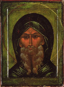 Icon of St. Anthony the Great